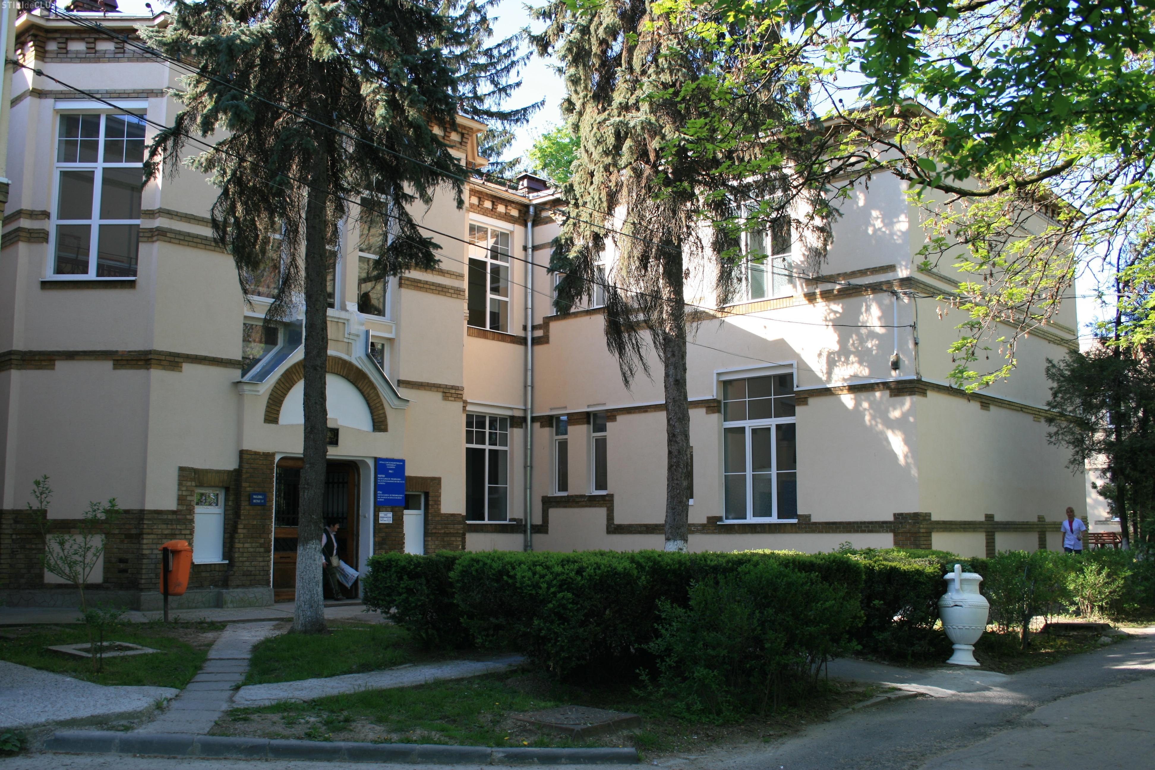 Cluj: Singura secția de chirurgie toracică, de la Spitalul TBC, va fi modernizată