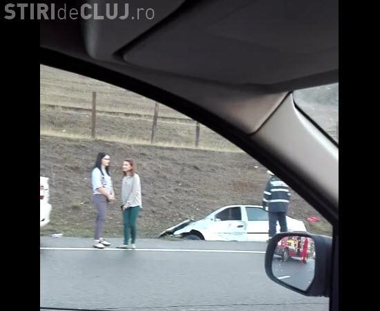 Accident pe centura Apahida - FOTO
