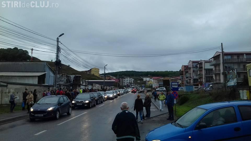 Traficul în Florești blocat complet, vineri dimineața, din cauza unei mașini defecte