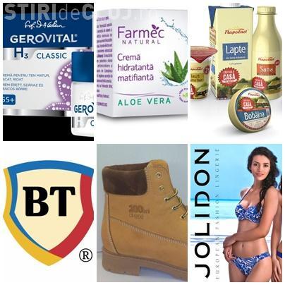 Clujul domină Top 100 cele mai puternice branduri românești. Avem Gerovital, Farmec, Napolact și Banca Transilvania