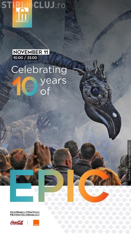 Iulius Mall Cluj sărbătorește 10 ani de existență! Le-au pregătit surprize fantastice clujenilor (P)