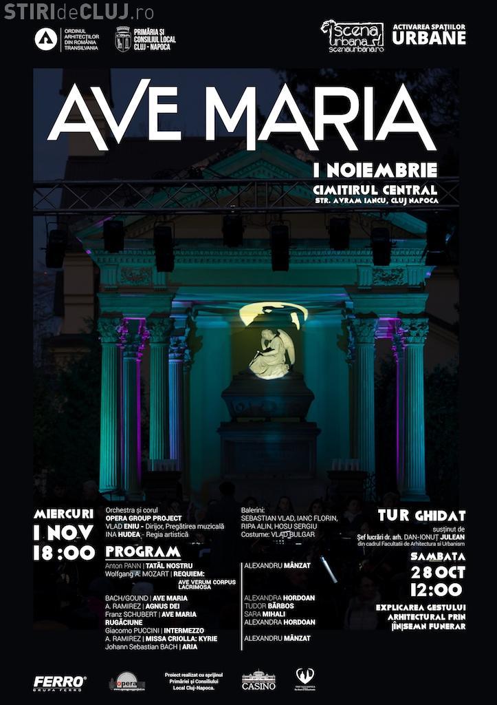 Concert în Cimitirul Central Cluj-Napoca de Luminație
