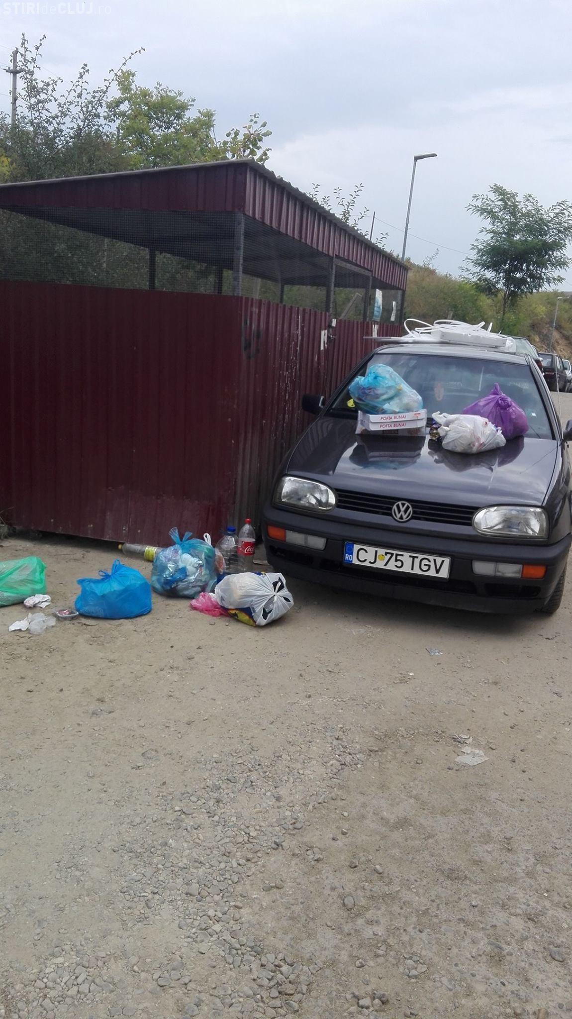 """Parcare din Baciu """"premiată"""" de locatari - FOTO"""