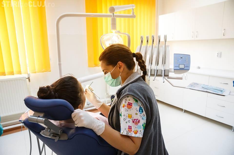 Clujenii cu venituri reduse au parte de servicii stomatologice gratuite