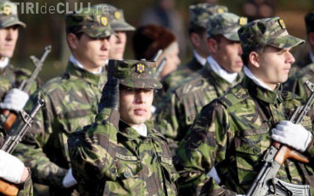 Centrul Militar Zonal Cluj recrutează voluntari