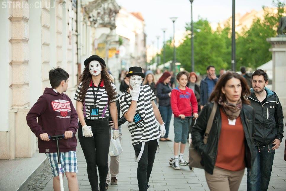 Trei zile de artă stradală și jazz, la Cluj! Vezi care este programul Jazz in the Street