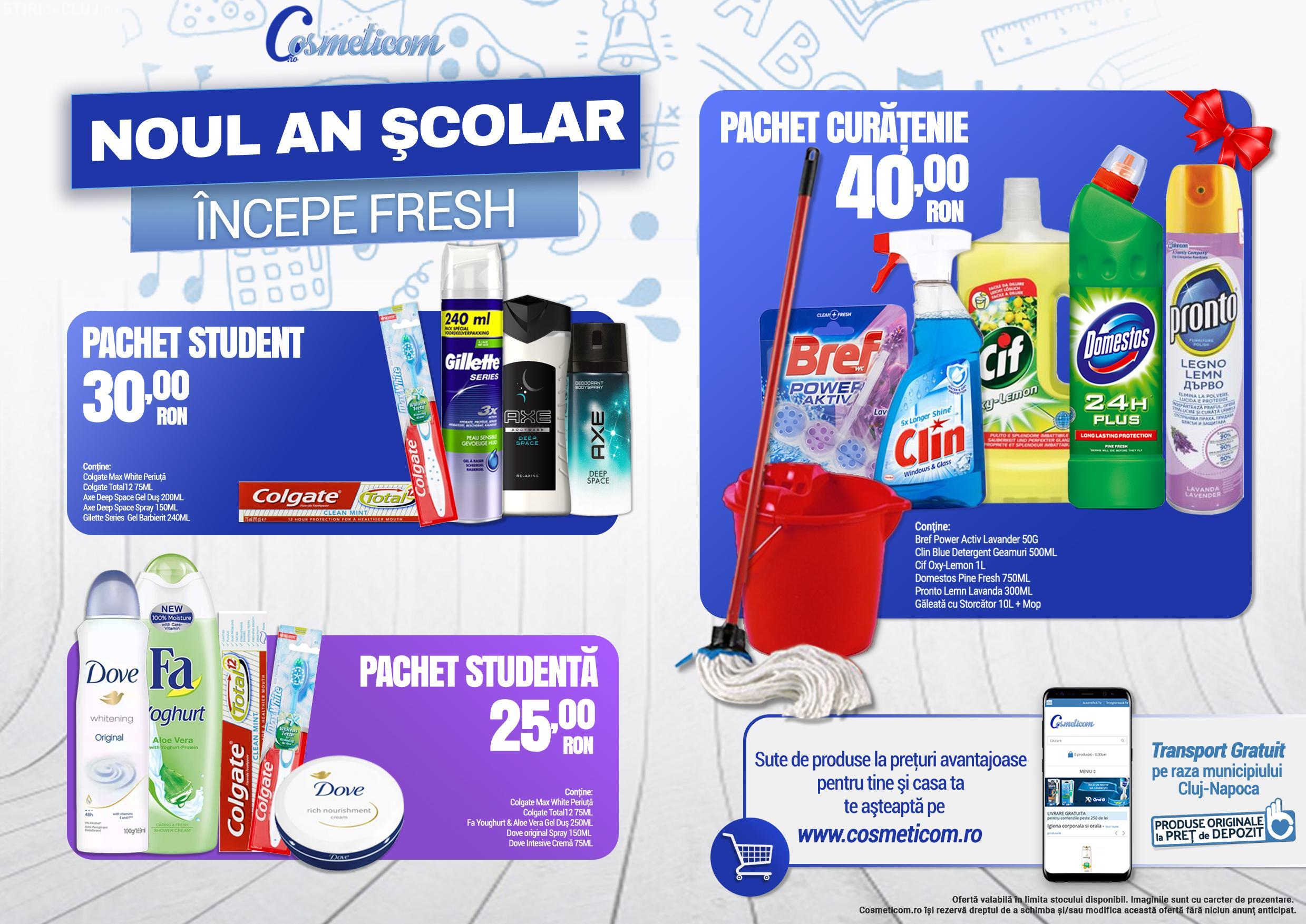 Noul an universitar începe cu un curs intens de curățenie! (P)