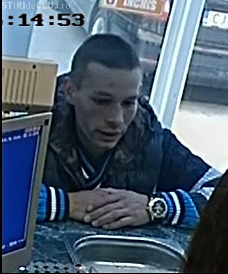 Bărbat, căutat de polițiștii clujeni după ce a mers cu bani falși la schimbul valutar. Îl recunoașteți? FOTO