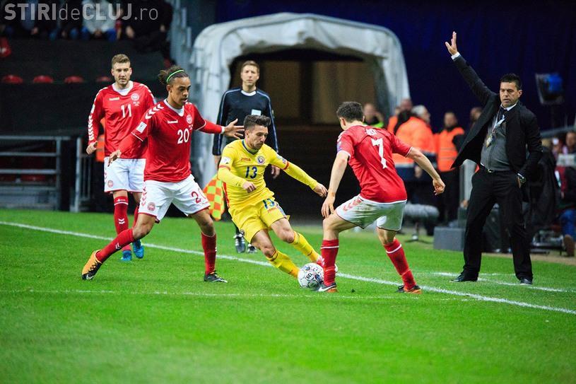 Danemarca - România 1-1! Deac a marcat pentru noi
