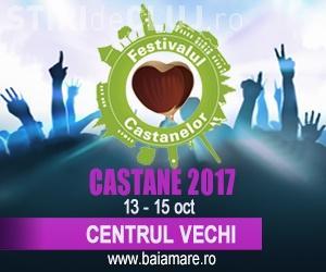 O nouă ediție a festivalului Castanelor are loc la Baia Mare! Vezi care este programul