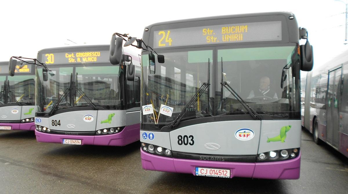 Cluj: Rețeaua de transport în comun, stresată la maxim de călători
