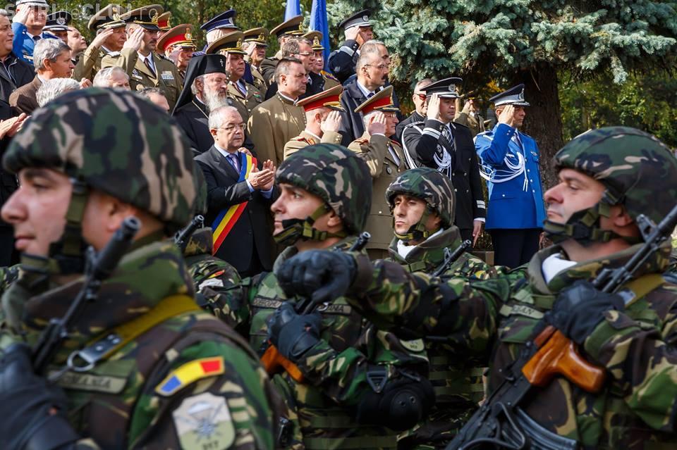 73 de ani de la Eliberarea Clujului de sub ocupația hortystă - FOTO