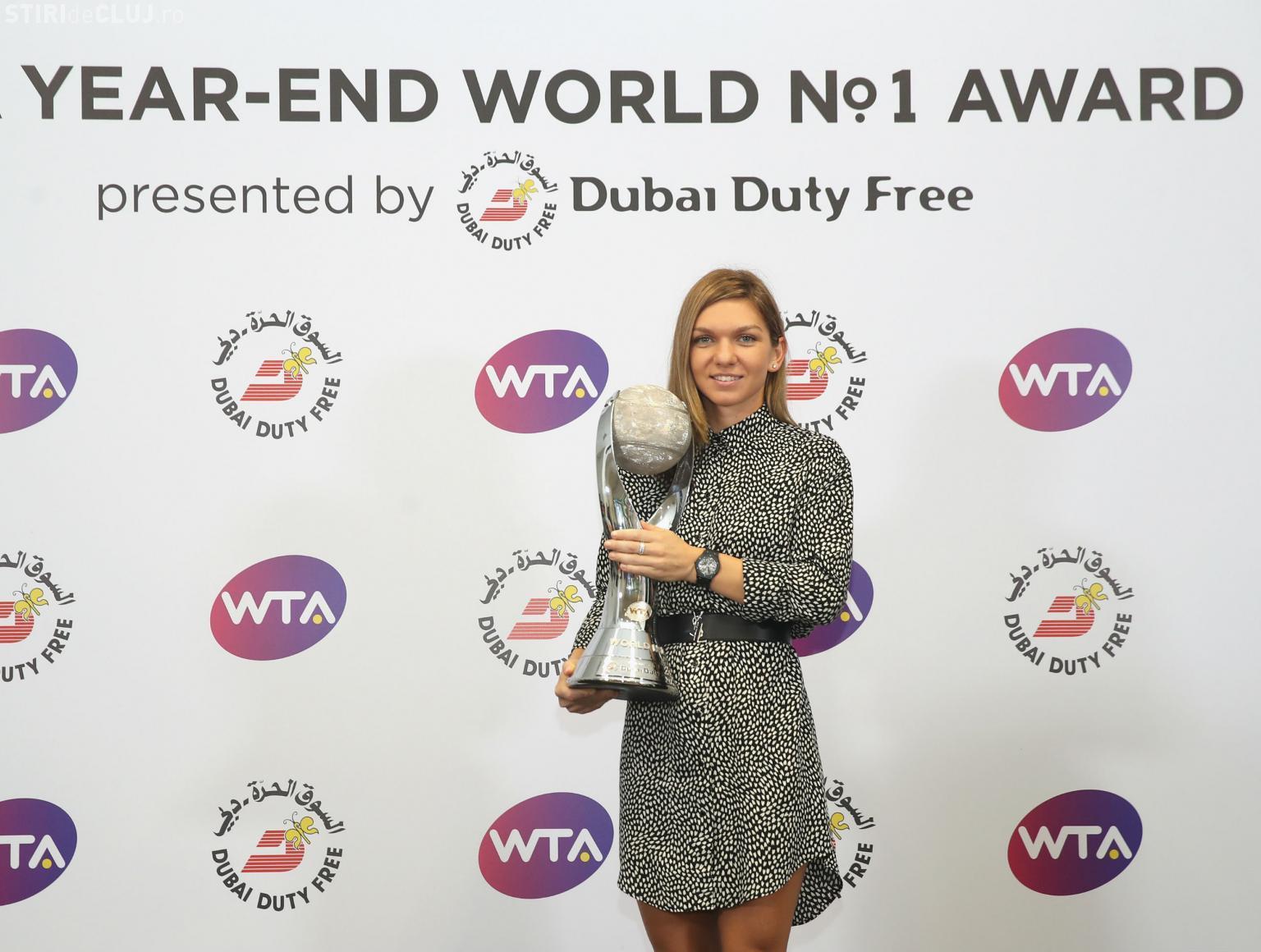 Simona Halep termină anul pe locul 1 mondial! Este a 13-a jucătoare din istorie care atinge această performanță