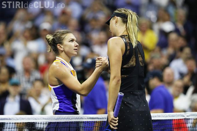 Halep a învins-o ÎN SFÂRȘIT pe Maria Sharapova! A eliminat-o în două seturi