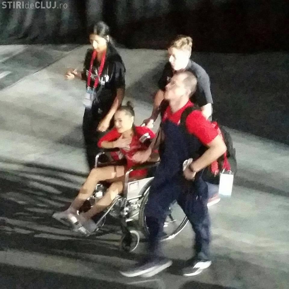 Larisa Iordache s-a accidentat la Montreal! Nu va mai putea concura la Mondiale