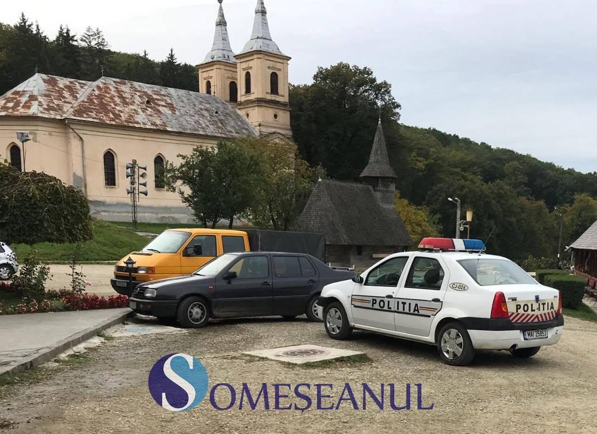 Proiectil neexplodat, descoperit la Mănăstirea Nicula! Va fi detonat de pirotehniști FOTO