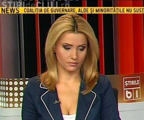 Mirel Palada, cel care l-a bătut pe Goțiu în direct, a reclamat-o la CNA pe moderatoarea B1 TV, Nadia Ciurlin