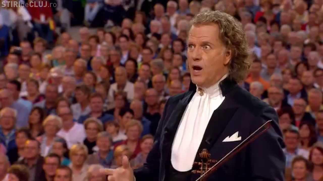 Celebrul André Rieu, amendat cu peste 110.000 de euro pentru că a lăsat un grup de copii români să cânte după ora 23.00