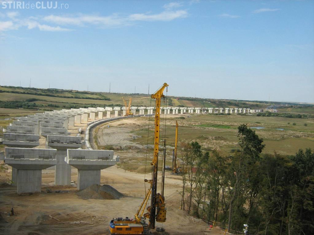Marș ciclist pentru reluarea lucrărilor la Autostrada Transilvania