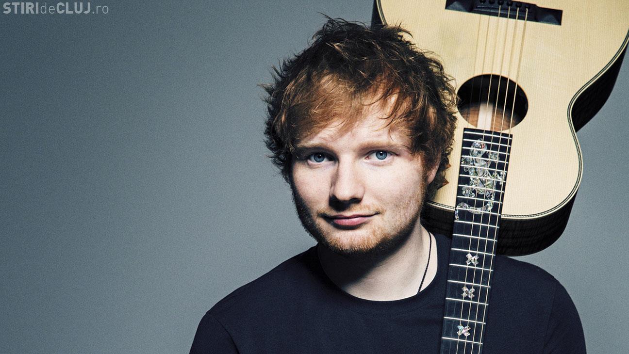 Ed Sheeran a fost implicat într-un accident! A fost lovit de mașină în timp ce mergea cu bicicleta FOTO
