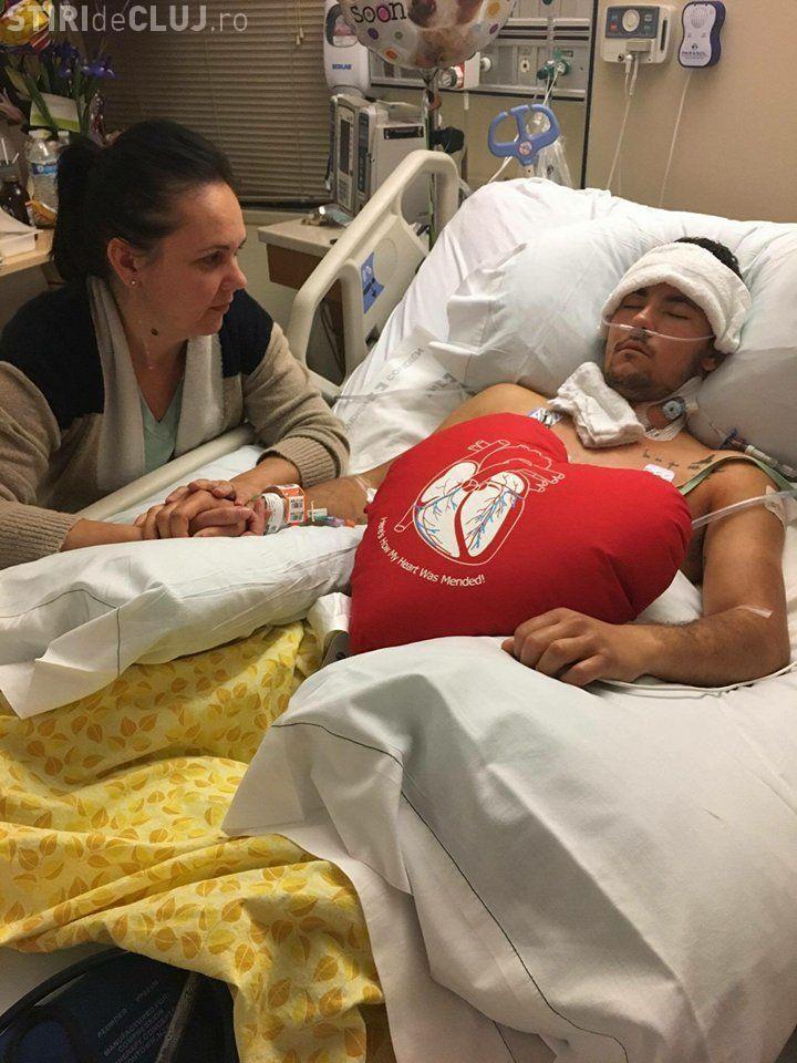 Donații pentru clujeanul împușcat în Las Vegas. Are nevoie de bani - FOTO