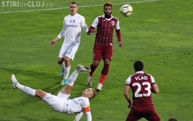 CFR Cluj eliminată din Cupa României. Petrescu trădat de trei jucători