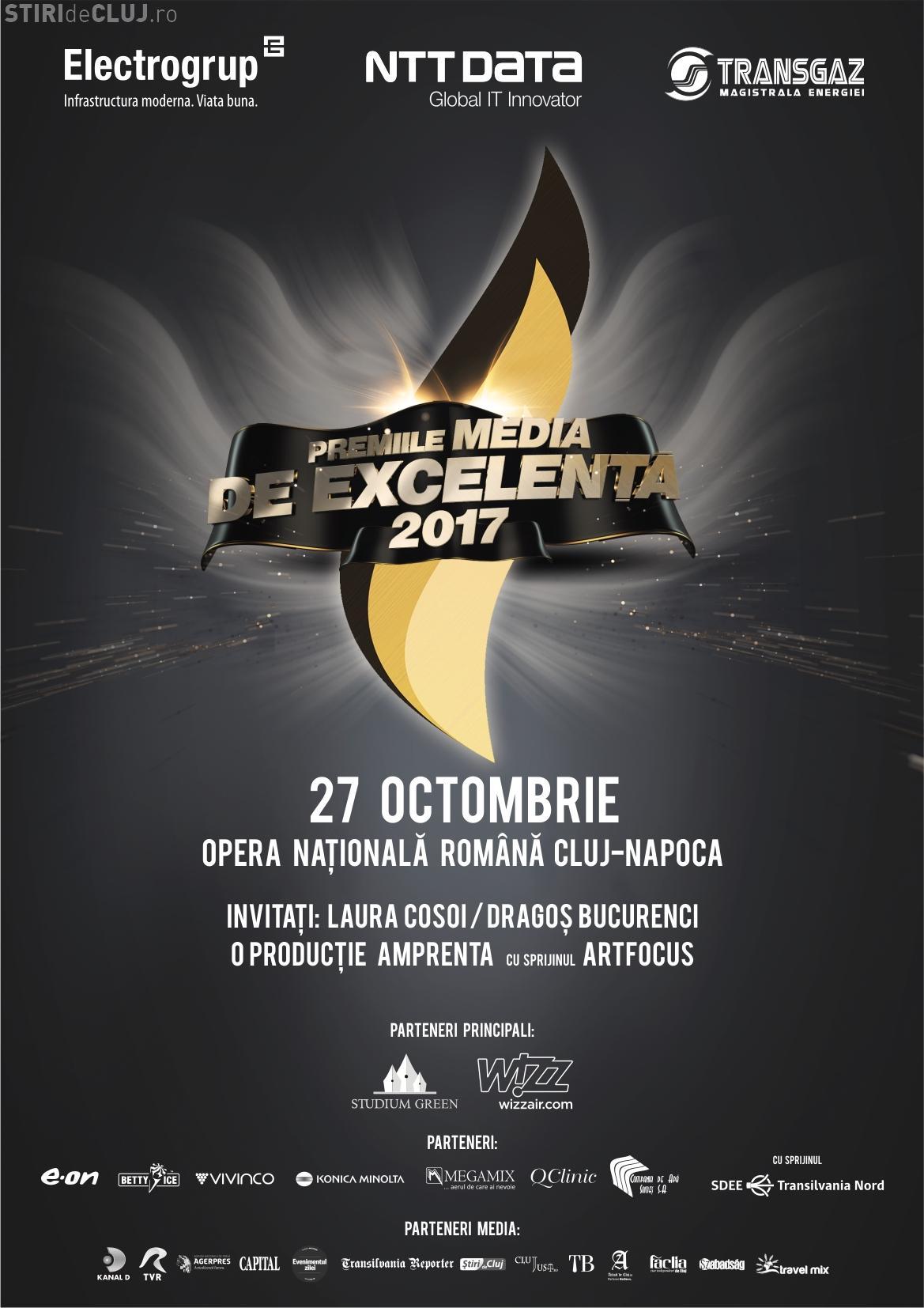 Premiile Media de Excelență, la Cluj! Organizatorii anunță o ediție cu totul specială