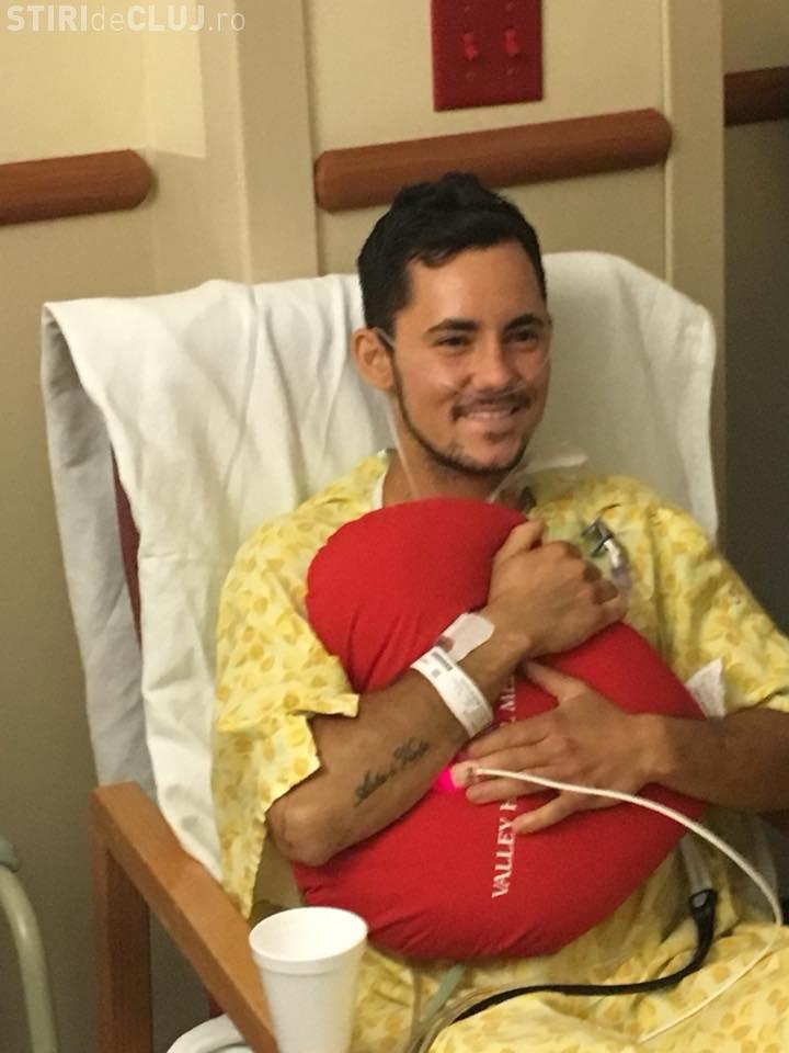 Tânărul clujean rănit în urma atacului din Las Vegas a fost scos de la Terapie Intensivă. Recuperarea va fi una de lungă durată