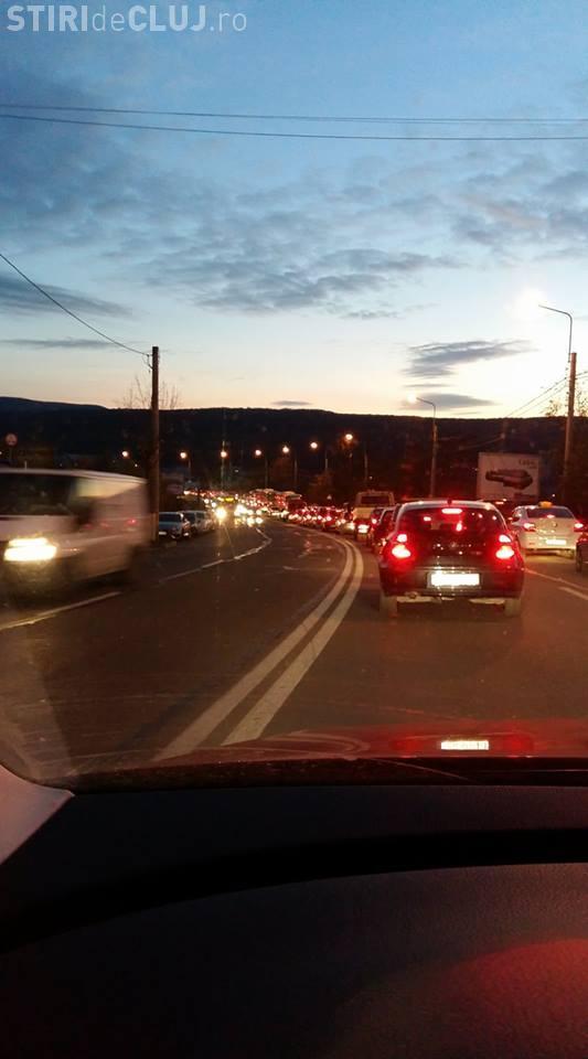 Blocaj de trafic în Zorilor și Bună Ziua - VIDEO