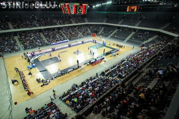 Cluj-Napoca: La meciul de baschet România - Olanda elevii au acces gratuit