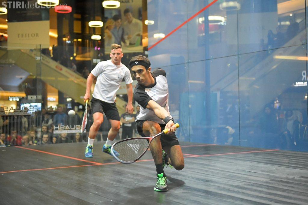 Cea de-a cincea ediție a turneului internațional Open Squash are loc la Iulius Mall Cluj, în acest weekend