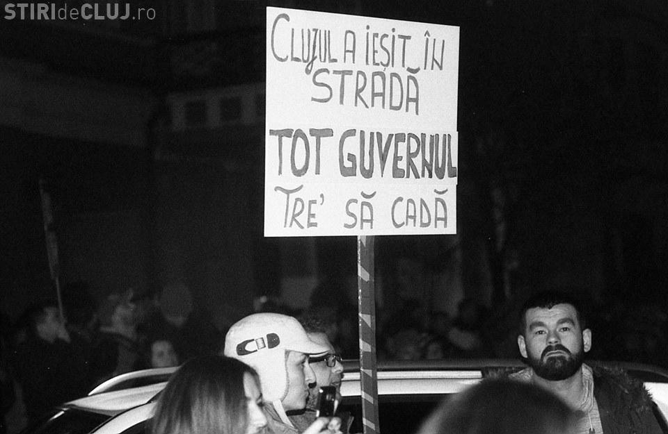 Clujul protestează de la ora 18.00, pentru apărarea Justiției