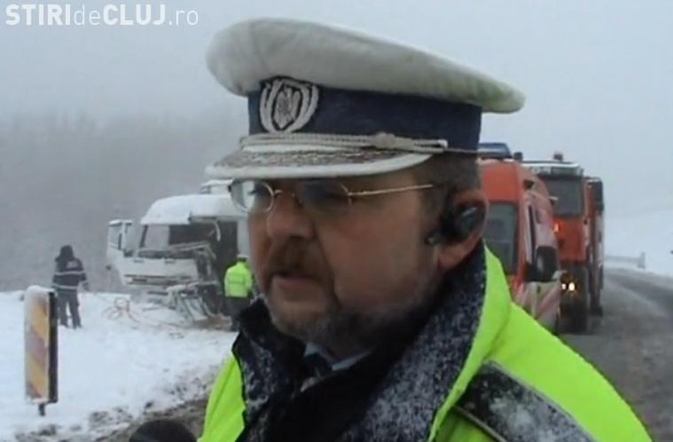 Șeful Poliției Rutiere Cluj, ascultat de DNA. A fost confundat cu directorul Aeroportului Cluj
