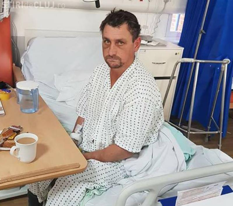 Vasluian găsit beat și bătut în Londra. Susține că nu știe cum a ajuns în Anglia