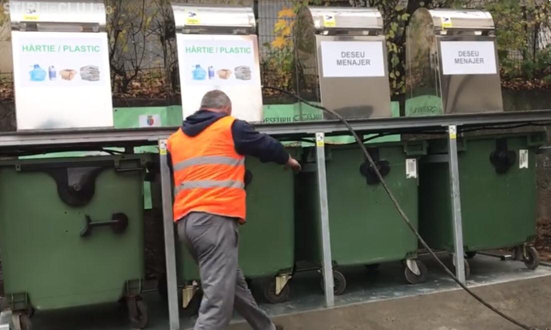 Test cu pubele îngropate! VEZI cum funcționează de fapt sistemul - VIDEO