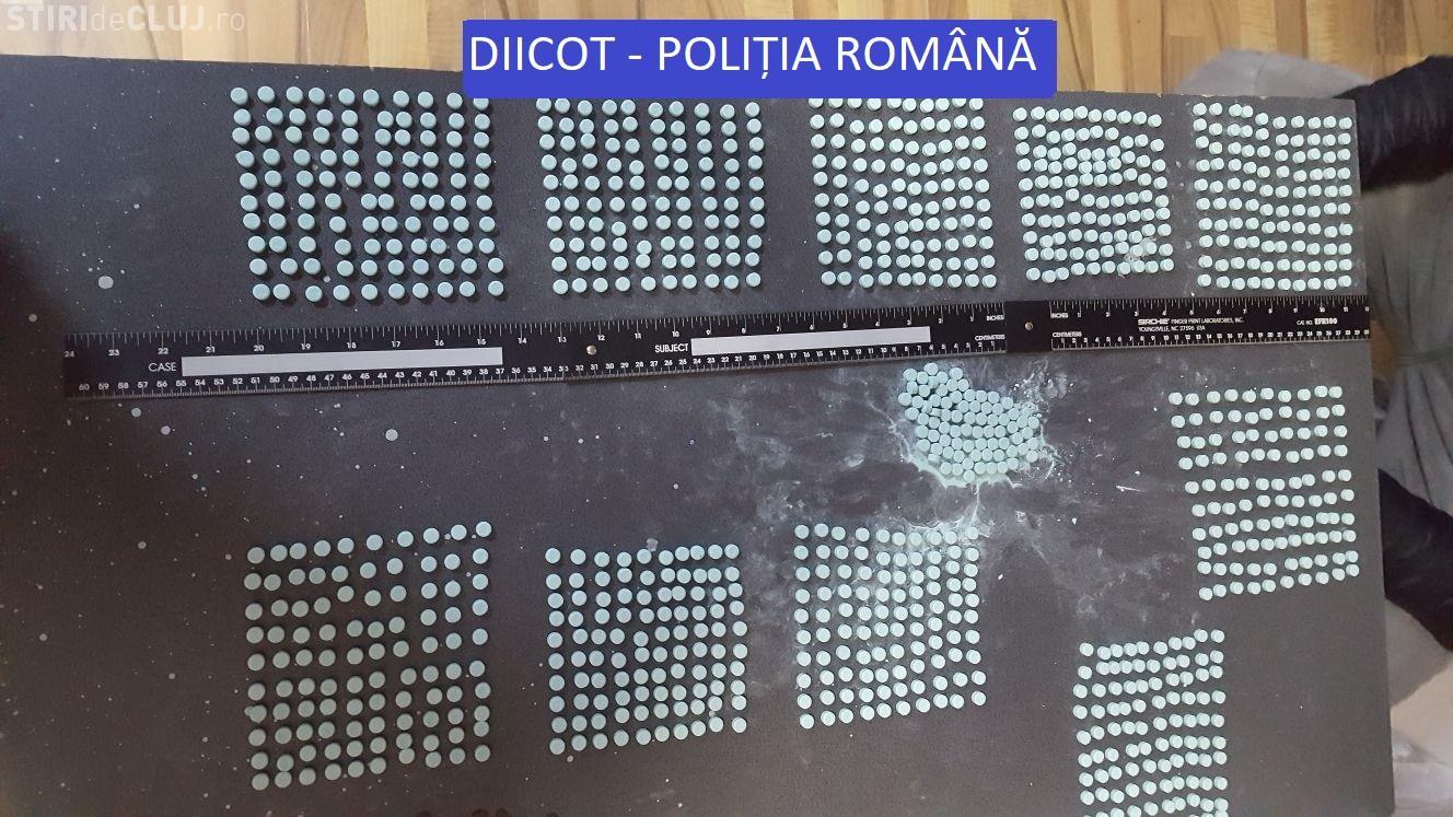 Captură uriașă de Ecstasy la vamă! Drogurile urmau să fie comercializate în Cluj și Bistrița FOTO