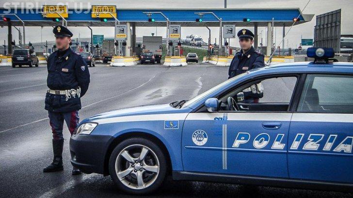 Cum a fost amendat un român cu 9.500 de euro în Italia. A rămas și fără autovehicul