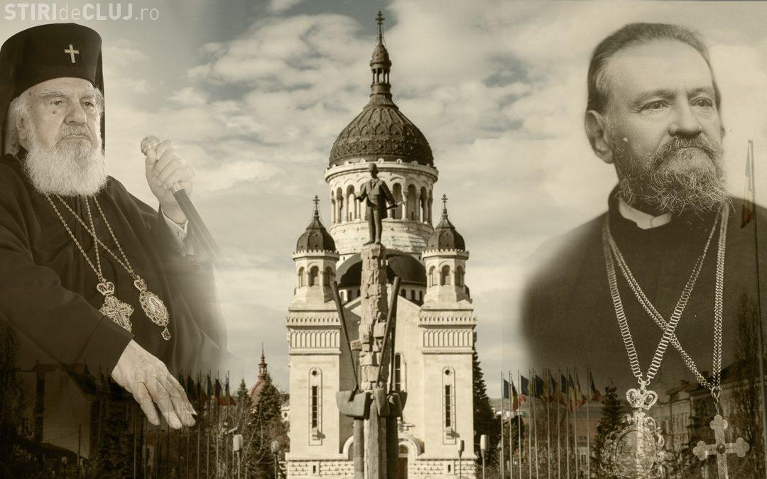 Clujul va avea două statui ale unor preoți în fața Catedralei din Piața Avram Iancu