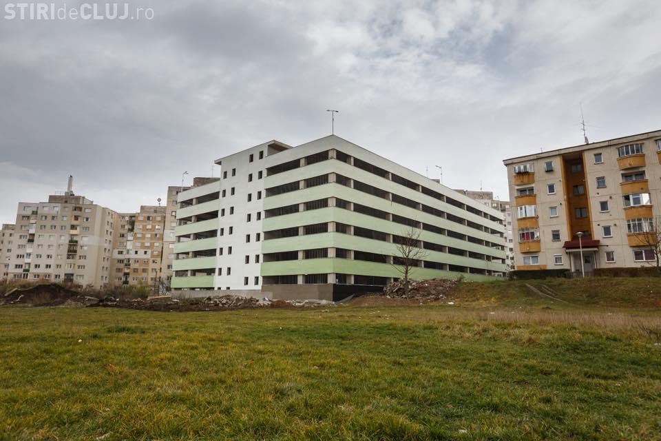 Parkingul Negoiu (Mănăștur) va fi inaugurat în decembrie - FOTO