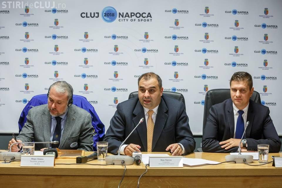 "Cluj-Napoca – oraș Candidat la titlul de ""European City of Sport 2018"""