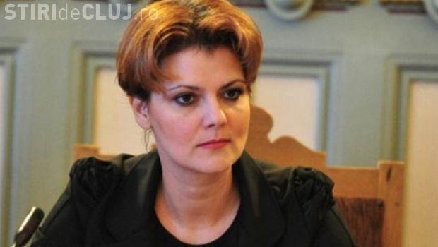 Olguța Vasilescu: N-am spus că prin acest transfer de contribuţii cresc salariile. Bugetarii primesc 25% pe brut, 4% în mână