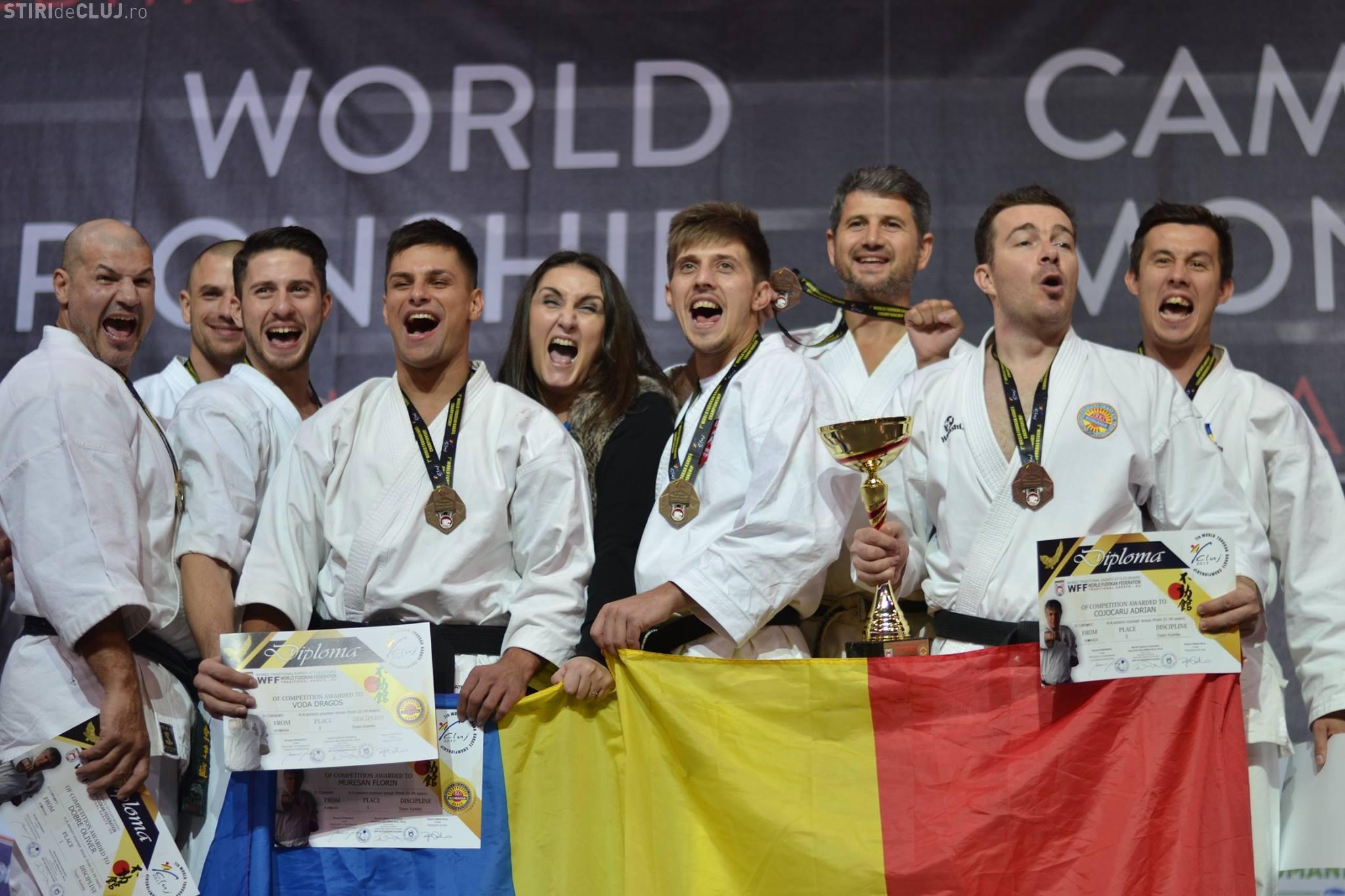 România a păstrat titlul mondial după Campionatul Mondial de Karate Fudokan Cluj 2017 - FOTO