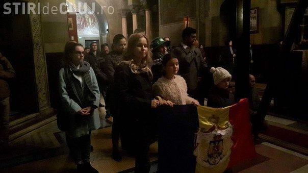 Cluj: Monarhiștii s-au rugat pentru sănătatea Regelui Mihai I