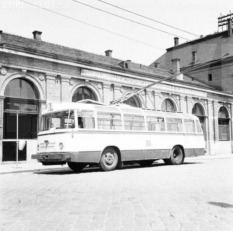Cluj-Napoca: Incident într-un troleibuz, în anii 1960, rezolvat inteligent și cu  bun simț de șofer - FOTO