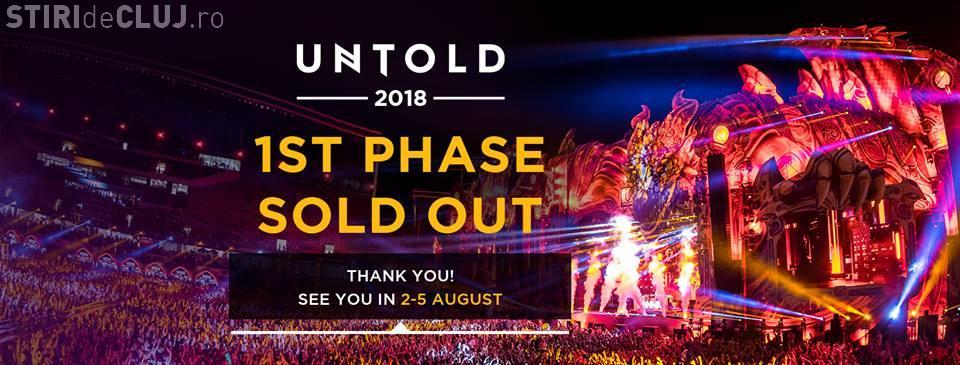Primele 15.000 de bilete la UNTOLD 2018 s-au vândut în doar câteva minute