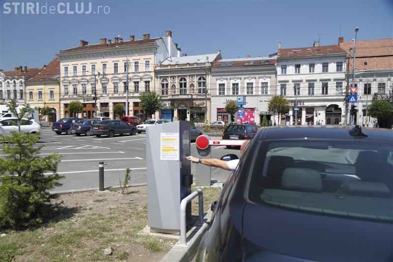 Parcările în centrul Clujului se vor scumpi din 2018