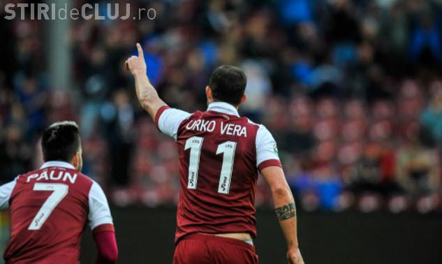 CFR Cluj - Sepsi, 2-0. REZUMAT VIDEO - Meci slab dar clujenii conduc Liga 1