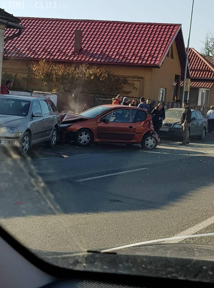 Accident în Florești, pe DN 1. Ce s-a întâmplat? - FOTO