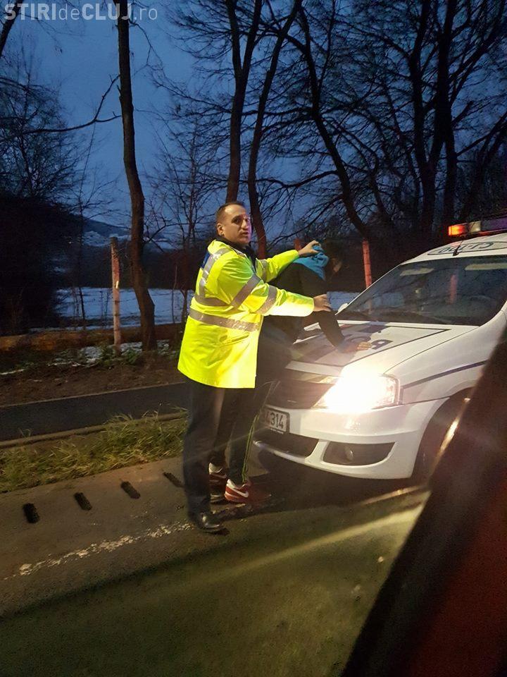 """Șofer beat arestat în Florești! """"Eu am fost la volan?"""" / Martor: """"Sunt martori, mă nesimțitule!"""" - VIDEO"""