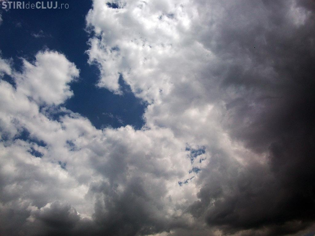 Precipitații la Cluj în weekend. Vezi ce anunță ANM